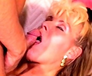 Blonde MILF Anal Pounded...