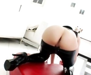 Milk squirting solo babe...