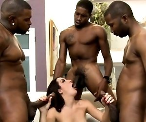 Brunette woman dped by...