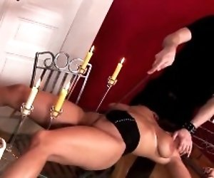 Sexy Suzy gets covered in...