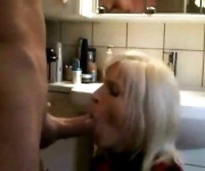 Blonde enjoys anal fucking...