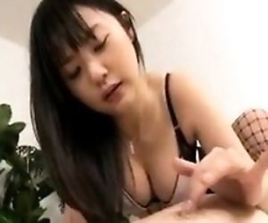 Beautiful Asian girl in...