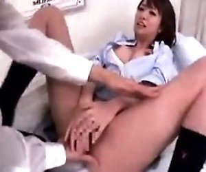 Sultry Asian girl with...