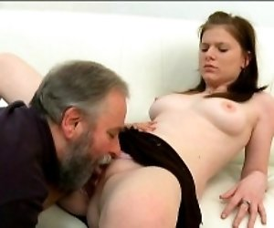 Young sweetie feels well on...