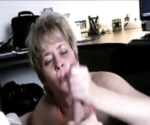 Hand Job Caught While...