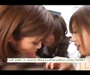 Japanese AV girls are cock...